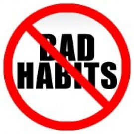 Кратък списък с идеи как да трансформираме лошите си навици.