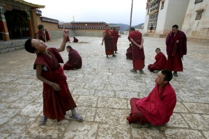 Пет простички тибетски упражнения.